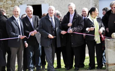 Inauguration du moulin de Pinquet
