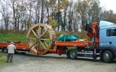 Reportage photo du montage de la roue