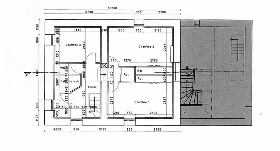 Projet étage